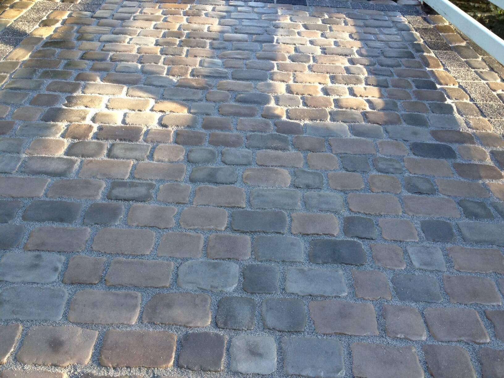marshalls original cobble driveway wirral abel landscaping. Black Bedroom Furniture Sets. Home Design Ideas