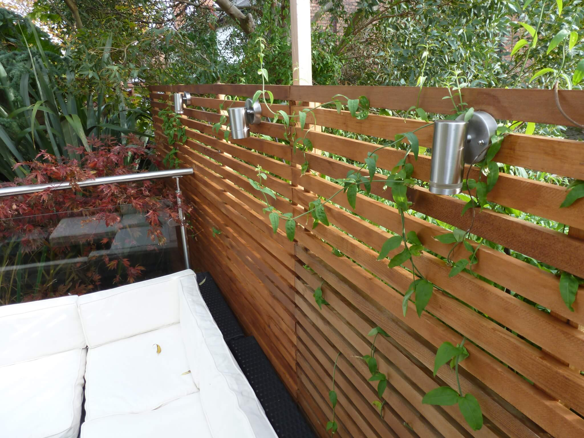 Contemporary Fencing | Abel Landscaping