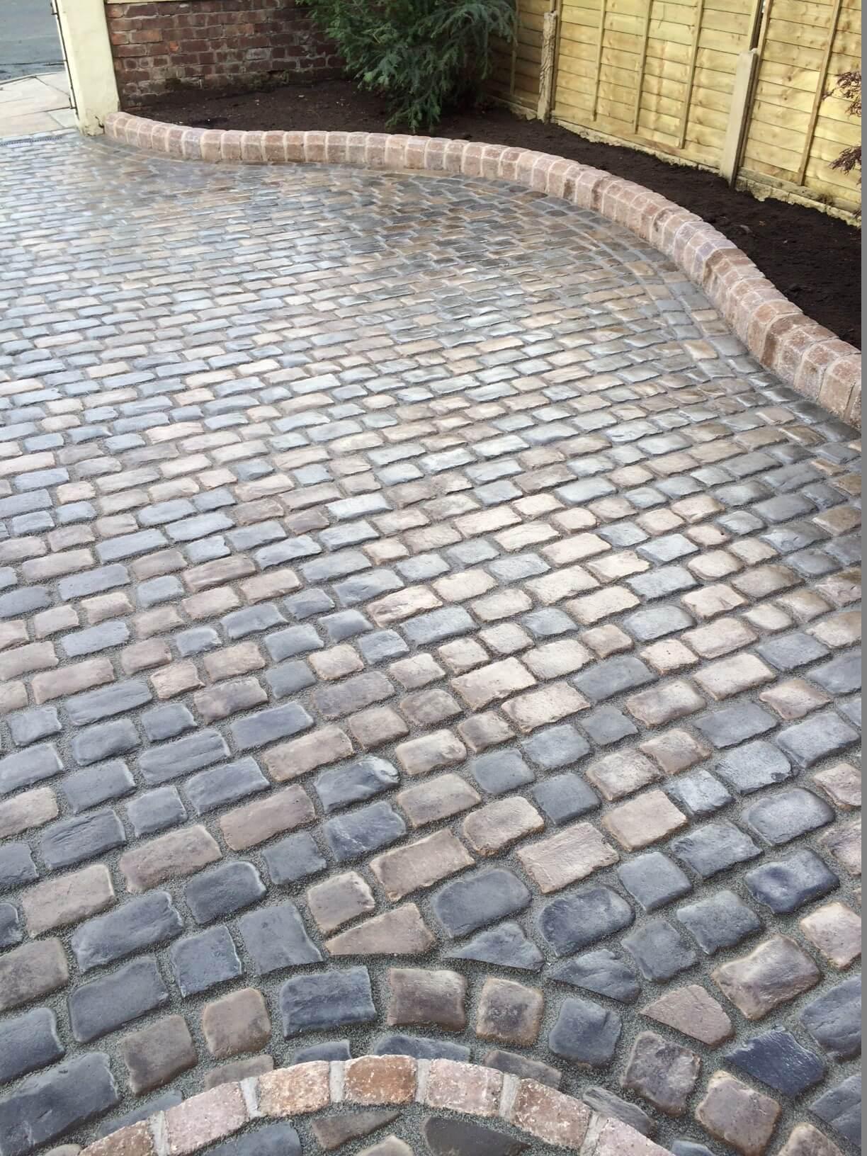 Drivesys Original Cobble Block Paving Driveway Churchtown